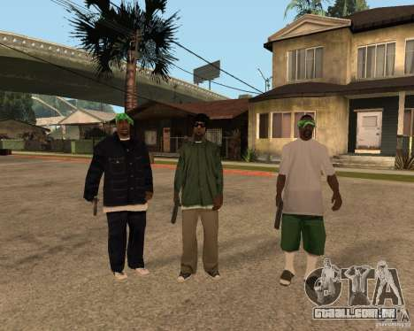 Bosque do Ballasy para GTA San Andreas
