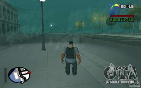 O novo pára-quedas para GTA San Andreas terceira tela