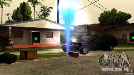 ENBSeries 0.75c para GTA San Andreas segunda tela