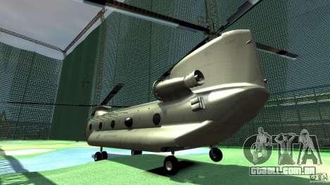 CH-47 para GTA 4 vista direita