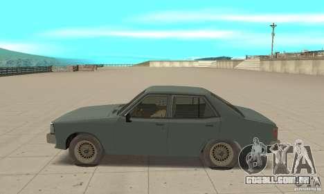 Mitsubishi Galant Sigma 1980 para GTA San Andreas esquerda vista