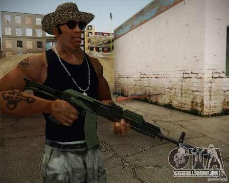 AK-47 para GTA San Andreas segunda tela