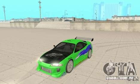 Mitsubishi Eclipse FnF para GTA San Andreas