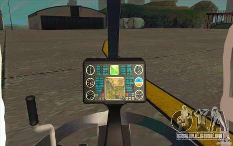 Dragonfly - Land Version para GTA San Andreas vista traseira