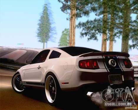 SA_NGGE ENBSeries para GTA San Andreas por diante tela
