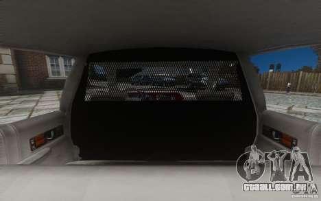 Chevrolet Caprice 1991 Police para GTA 4 rodas