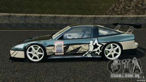 Nissan 240SX Time Attack para GTA 4 esquerda vista