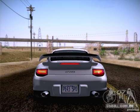 Porsche 911 GT2 RS 2012 para GTA San Andreas traseira esquerda vista