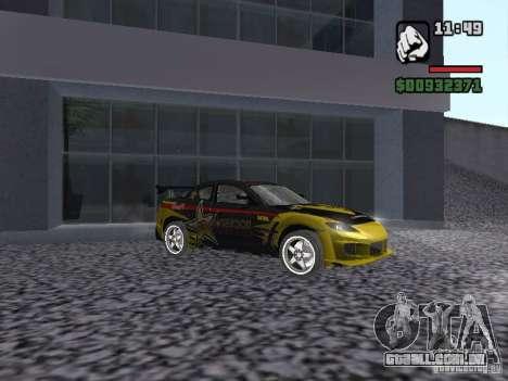 Mazda RX-8 Rockstar para GTA San Andreas esquerda vista