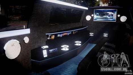 Rolls Royce Phantom Sapphire Limousine Disco para GTA 4 vista interior