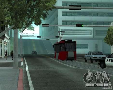 LM-2008 para GTA San Andreas vista traseira