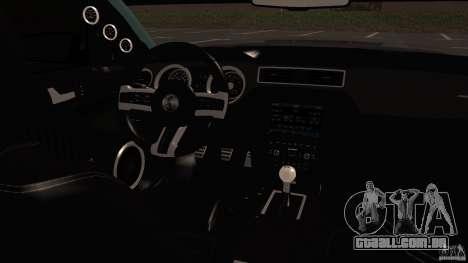 Shelby Mustang 1000 para GTA San Andreas esquerda vista