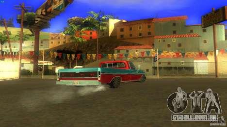 Ford F1000 Bicho para GTA San Andreas esquerda vista
