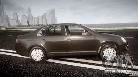 Volkswagen Jetta 2008 para GTA 4 vista interior