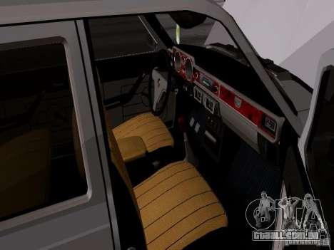 GAZ 24-12 SL Volga para GTA San Andreas vista traseira