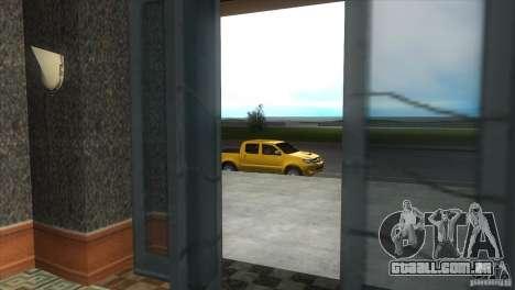 Toyota Hilux SRV 4x4 para GTA Vice City vista interior