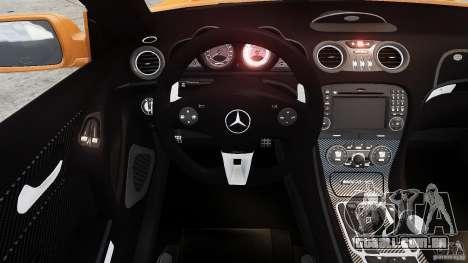 Mercedes-Benz SL65 AMG Black Series 2009 [EPM] para GTA 4 vista interior