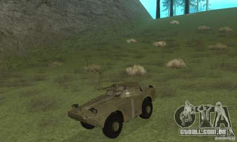 BRDM-1 pele 2 para GTA San Andreas esquerda vista