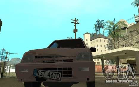 Daewoo Tico SX para GTA San Andreas vista superior