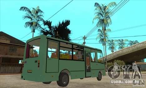 SULCO 3203 para GTA San Andreas vista direita