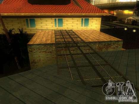 Base da Grove Street para GTA San Andreas quinto tela