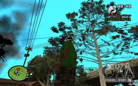 New Grove-Street para GTA San Andreas por diante tela
