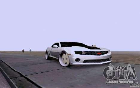 Chevrolet Camaro Super Sport 2012 para GTA San Andreas
