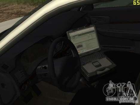 Polícia de GTA 4 para GTA San Andreas vista traseira