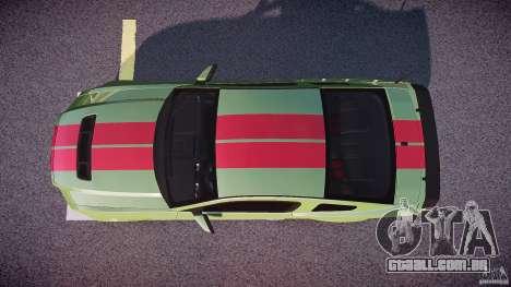Ford Mustang Shelby GT500 2010 (Final) para GTA 4 vista direita