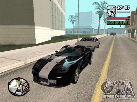 Banshee de GTA IV para GTA San Andreas vista traseira
