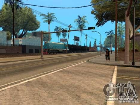 Tem2u-9392 para GTA San Andreas vista traseira