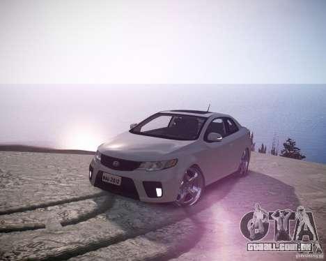 Kia Cerato Koup 2011 para GTA 4