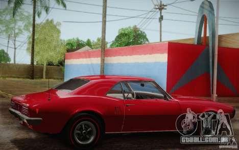 Pontiac Firebird 400 (2337) 1968 para o motor de GTA San Andreas