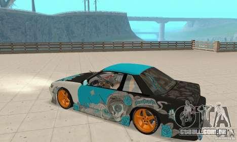 Nissan Silvia S13 NonGrata para GTA San Andreas vista direita