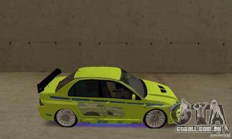 Luzes de néon azuis melhoradas para GTA San Andreas