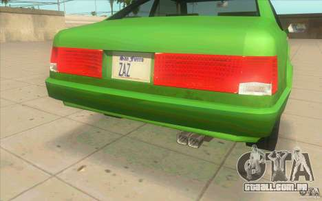 Mad Drivers New Tuning Parts para GTA San Andreas sétima tela