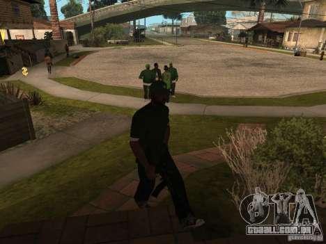 A capacidade de chamar uma Suite para GTA San Andreas segunda tela
