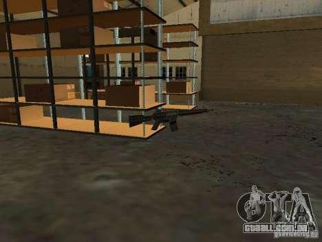 Renovação da base militar nas docas para GTA San Andreas terceira tela