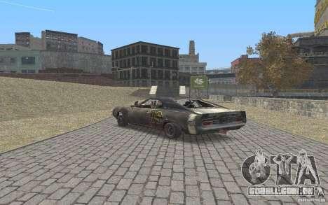 Malice from FlatOut2 para GTA San Andreas vista traseira