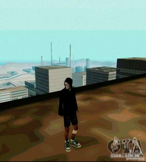 New Skin para GTA San Andreas