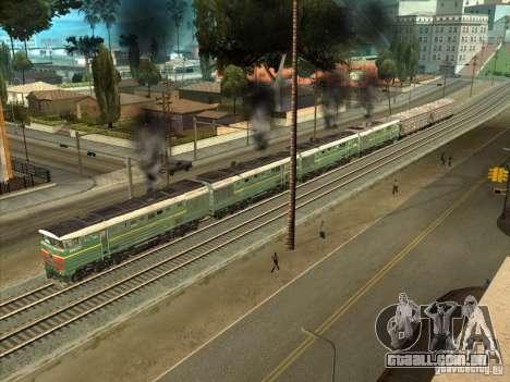 4TÈ10S-0013 para GTA San Andreas traseira esquerda vista