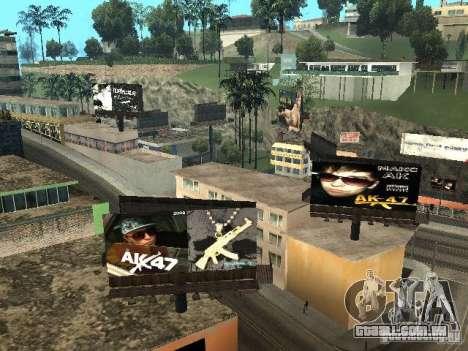 Rep trimestre v1 para GTA San Andreas oitavo tela