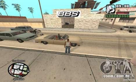 BBS PaynSpray para GTA San Andreas segunda tela