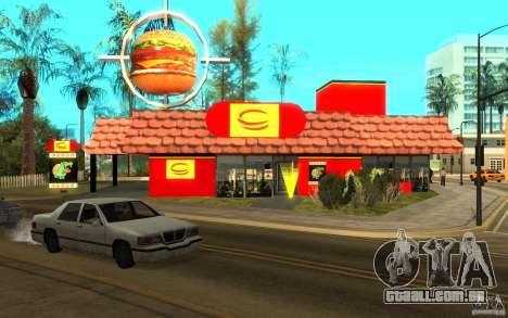 Pumper Nic Mod para GTA San Andreas terceira tela