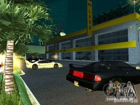Novo showroom em San Fierro para GTA San Andreas nono tela