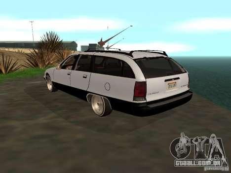 Chevrolet Caprice Wagon 1992 para GTA San Andreas esquerda vista