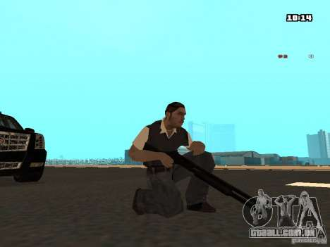 No Chrome Gun para GTA San Andreas