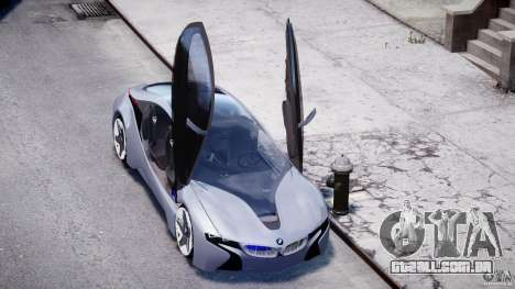 BMW Vision Efficient Dynamics v1.1 para GTA 4 vista superior