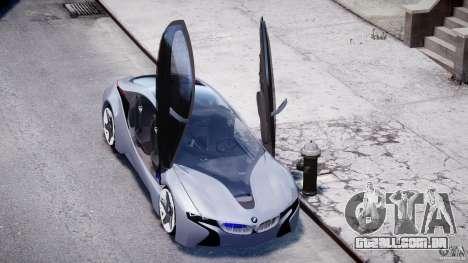 BMW Vision Efficient Dynamics v1.1 para GTA 4 vista superior