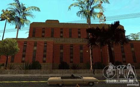Novas texturas para o hospital em Los Santos para GTA San Andreas sétima tela